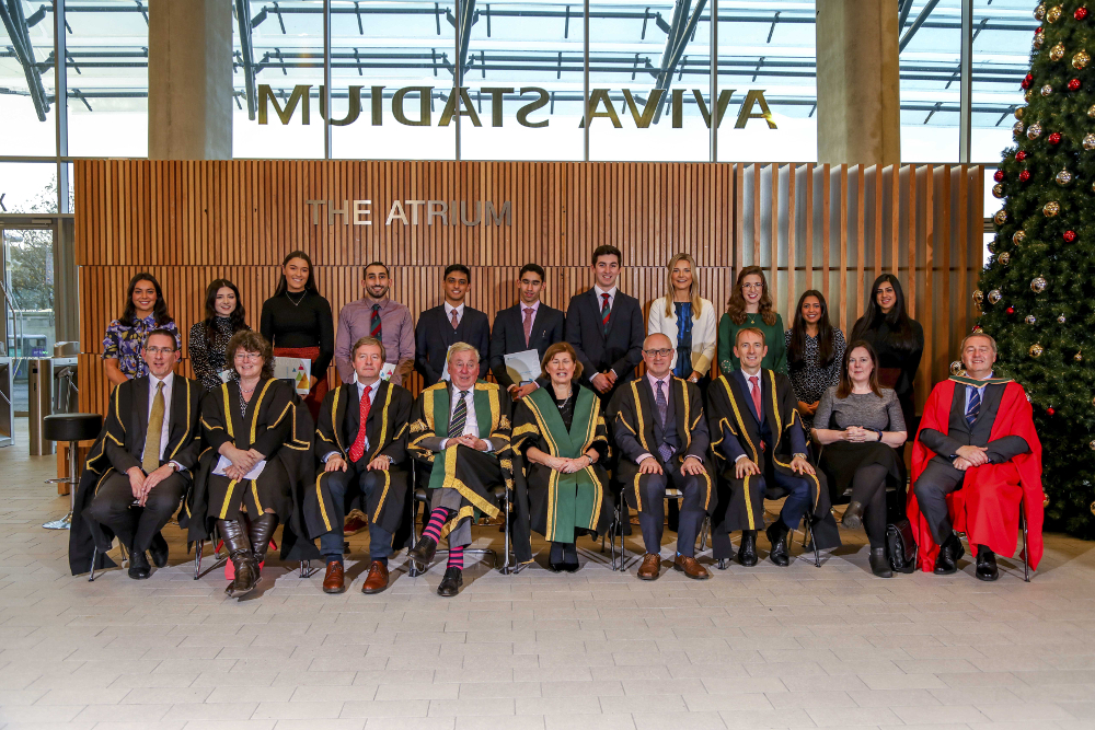 Recipients of NUI Dr H H Stewart Medical Scholarships and Prizes 2019 from RCSI