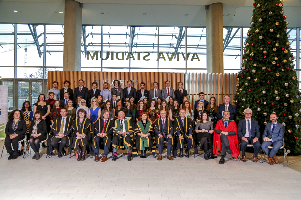 Winners of NUI Awards 2019 from UCC included recipients of Dr H H Stewart Literary Scholarships and Prizes in all eight disciplines