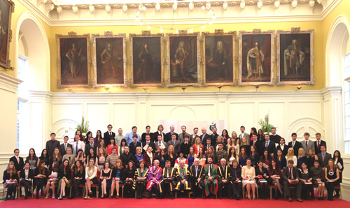 NUI Awards 2012 Winners Group Photo