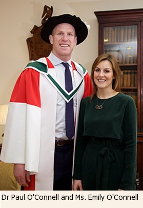 Dr Paul O'Connell and Ms Emily O'Connell