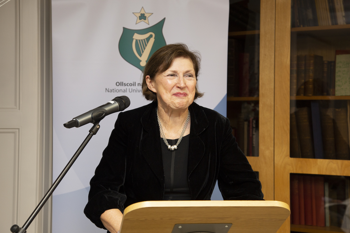 Dr Attracta Halpin, Registrar NUI