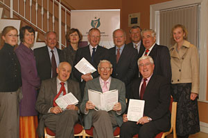 Group picture at the Essay launch