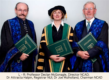 NCAD Honorary Conferring picture 1