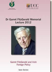 Dr Garret FitzGerald Memorial Lecture 2012 Cover Page
