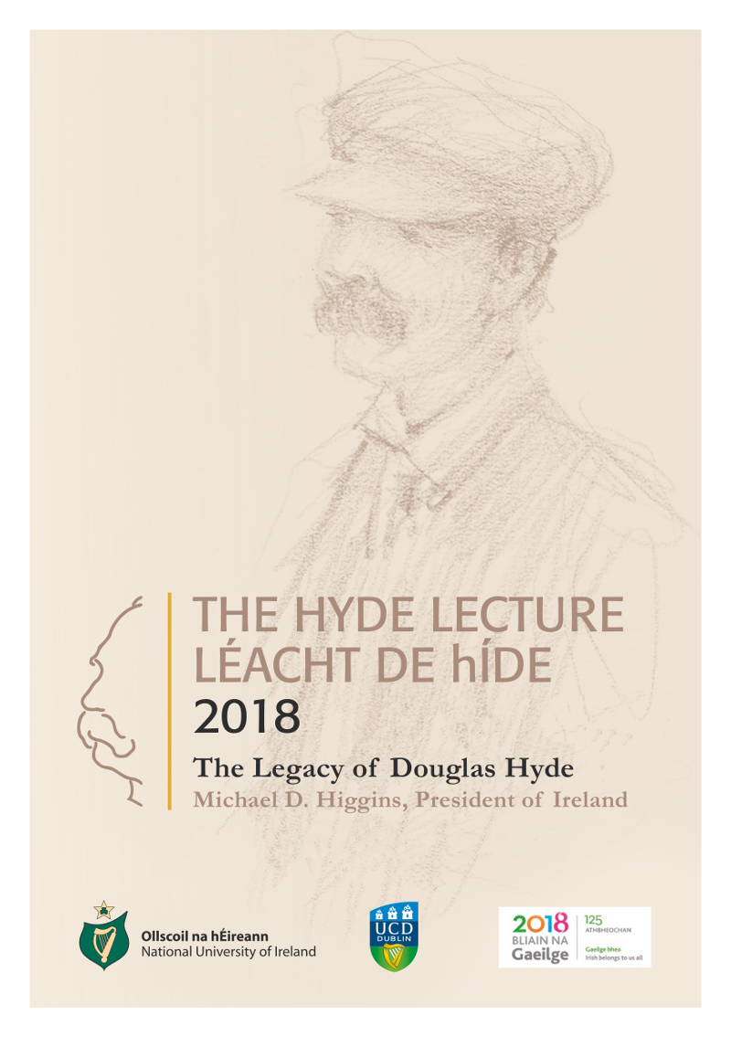 Douglas Hyde Lecture 2018 Cover Page